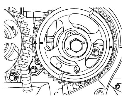 How Set The Timing Marks Chevy Aveo