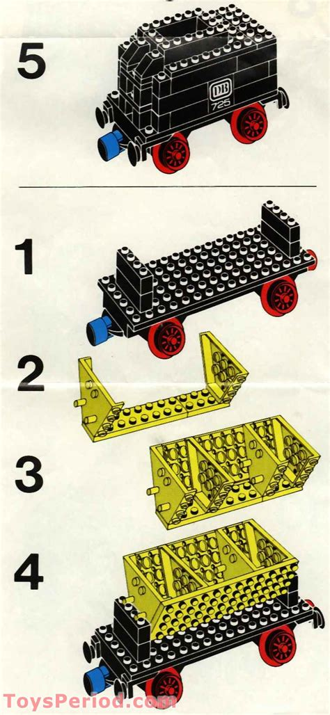 lego    freight train  track set parts inventory