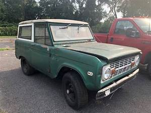 1970 Ford Bronco 4x4 For Parts Or Restore Great Project No