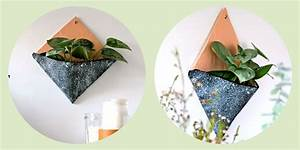 Cache Pot Mural : diy d co un cache pot mural marie claire ~ Premium-room.com Idées de Décoration
