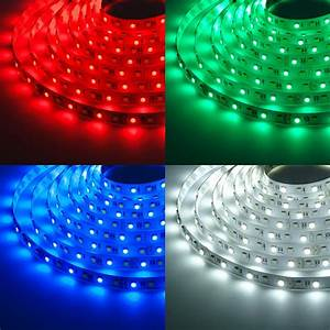 Led Stripes : rgbw led strip lights 12v led tape light w white and multicolor leds 265 lumens ft ~ Watch28wear.com Haus und Dekorationen