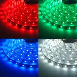 Led Stripes : rgbw led strip lights 12v led tape light w white and multicolor leds 265 lumens ft ~ Eleganceandgraceweddings.com Haus und Dekorationen