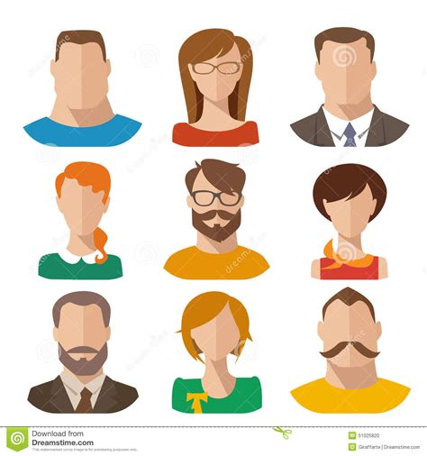 flat vector characters stock vector illustration  icon