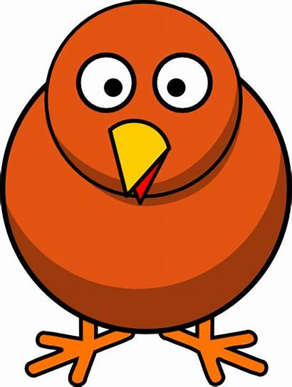 Chicken Weird Clipart Clip Vector Clker Royalty