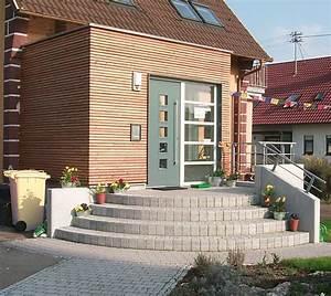 Außentreppe Sanieren Kosten : umbau anbau erweiterung windfang holzbau au entreppe ~ Lizthompson.info Haus und Dekorationen