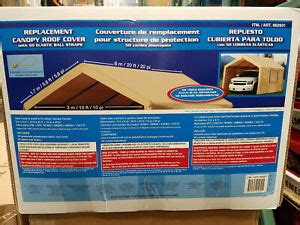 costco    foot heavy duty canopy replacement top cover      ebay