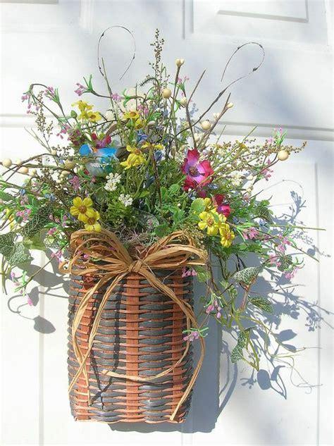 images  door baskets  pinterest summer door