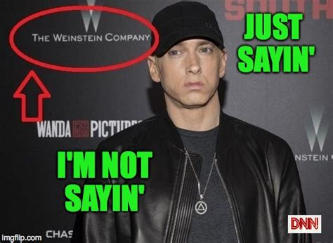 Just Sayin Meme - image tagged in wein shady imgflip