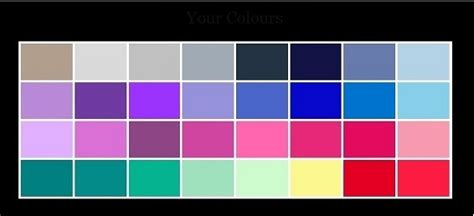 Palette Green All Seasons by 4 Season Color Analysis