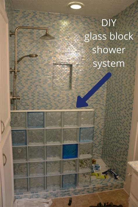 reasons  dont   build  glass block shower
