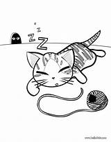 Coloring Pages Sleep Cartoon sketch template