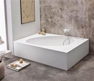 Grande Baignoire D Angle : baignoire d 39 angle pourquoi la choisir ~ Edinachiropracticcenter.com Idées de Décoration