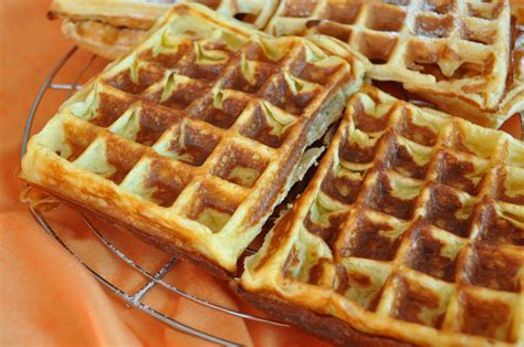 cuisine sans oeufs gaufres aux pommes rapées cuisine avec du chocolat