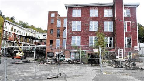 demolition  forster mill  wilton draws closer