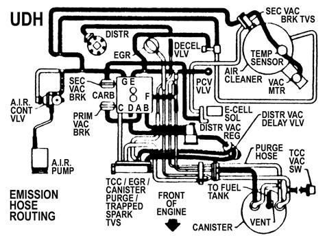 Need Vacuum Line Shematic For