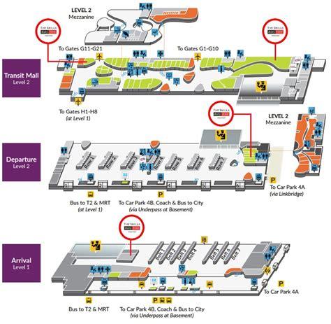 changi airport terminal  arrival floor plan carpet