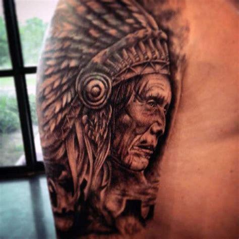 100 Native American Tattoos For Men  Indian Design Ideas