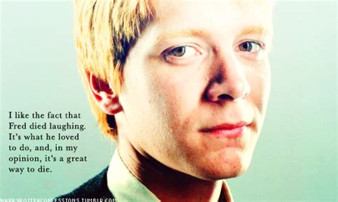 Fred And George Weasley Are My Favorite Characters And I Cried When George Lost His Ear And When