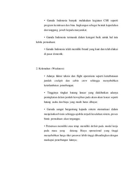 Manajemen strategi Garuda Indonesia