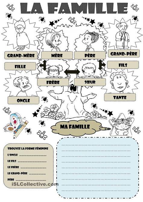anglais vocabulaire cuisine la famille