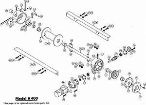 Ramsey Winch Hydraulic H G  Y 400