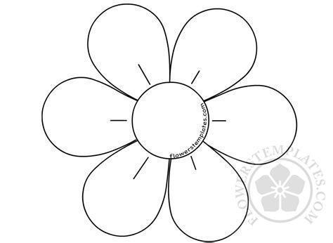 flower   petals template flowers templates