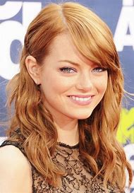 Emma Stone Strawberry Blonde Hair