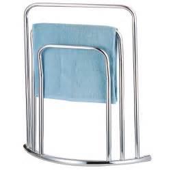 Free Standing Bathroom Towel Rack Stand
