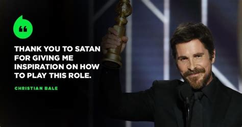 Church Satan Reacts After Christian Bale Thanked