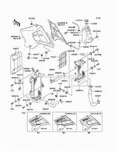 Kawasaki Kdx220-a11 Parts List And Diagram