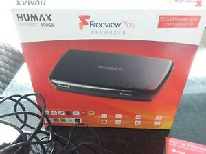 HUMAX FVP-5000T 500GB HD Freeview Play and Recorder in ...