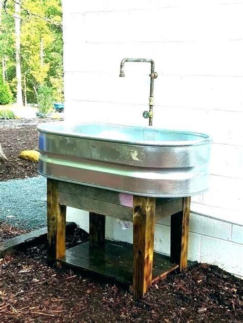 Garden Hose Sink by Garden Hose Sink Outdoor Sink Faucet Outdoor Sink Outside