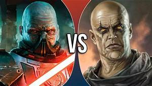 VS | Darth Malgus vs Darth Bane - YouTube