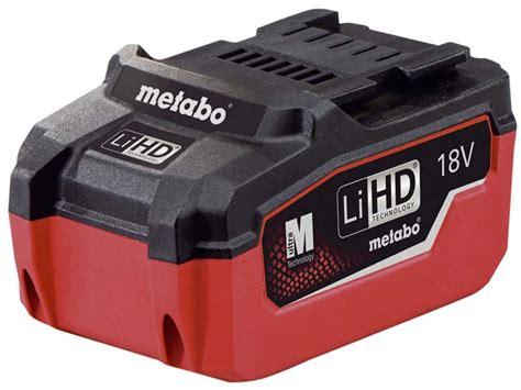 Metabo 625342000 18v 55Ah LiHD Battery Pack