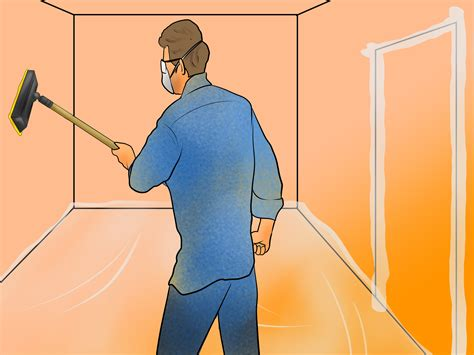 clean drywall dust  steps  pictures wikihow