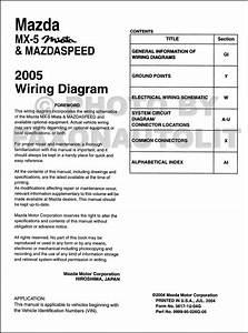2005 Mazda Miata Mx 5 Mazdaspeed Mx5 Electrical Wiring Diagram New 2005