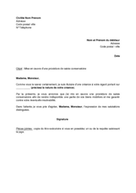 saisie sur compte lettre d information au d 233 biteur de la mise en oeuvre d une saisie conservatoire mod 232 le de