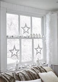 easy christmas window decorating ideas