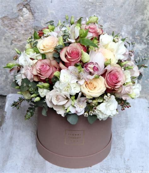 Flower Box kwiatowy box vintage kwiaty na okazje floral concept store