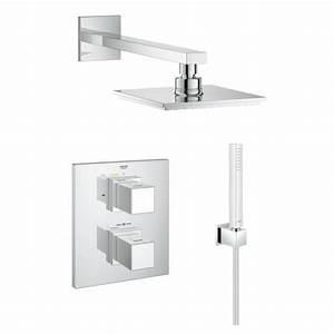 Douche Encastrable Plafond : douche encastrable amazing kit douche encastrable leroy ~ Premium-room.com Idées de Décoration