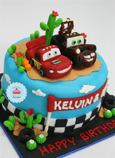 cars cake  father  sonss birthday jocakes