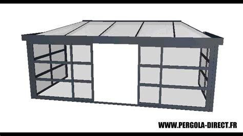 veranda kit aluminium www pergola direct fr