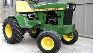 John Deere 140 Hydrostatic Tractor Service Repair