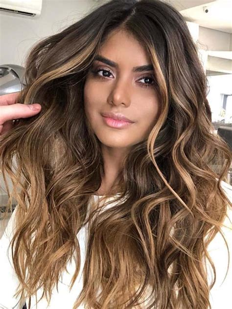 haircut for thin hair 40 stunning balayage hair colors highlights for 2018 3234