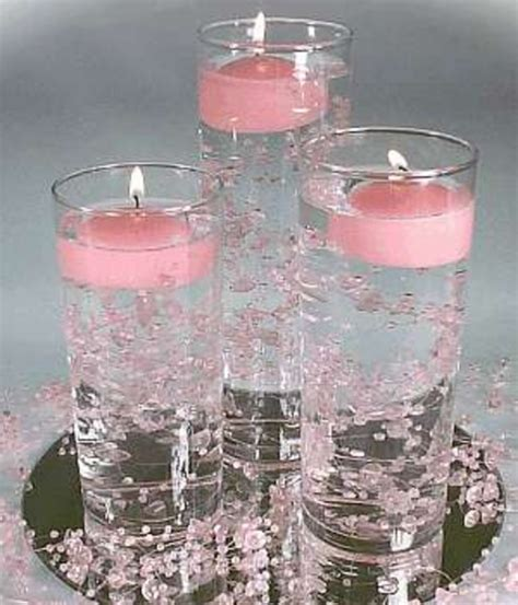 centerpieces  magical touch   table housework