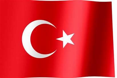 Turkey Flag Waving Republic Animated Br Flags