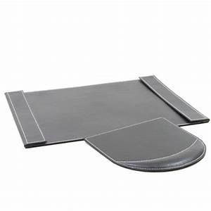set sous main tapis de souris en similicuir With tapis sous bureau