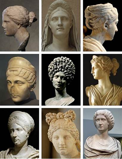 Roman Ancient Hairstyles Rome Female Hair History