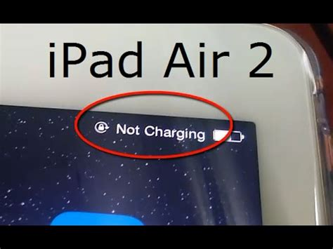 why is my iphone not charging air 2 battery is not charging when connected to pc