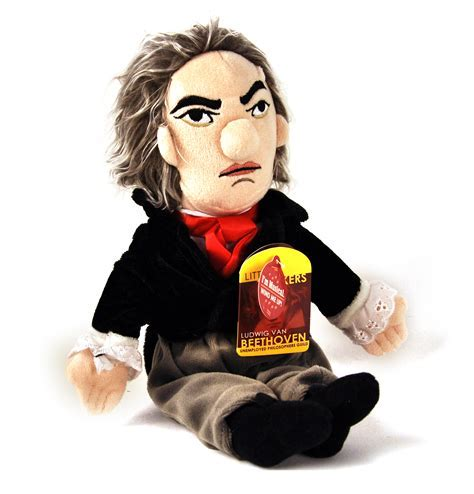 Beethoven Soft Toy   Little Thinkers Doll   Plays Music